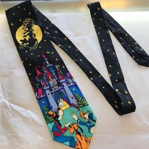 Disney Accessories - Disney Christmas in June Tie Mickey Mouse Castle